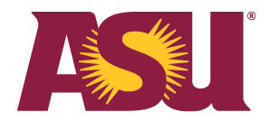 Arizona State University sunburst logo